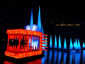 Dragon King - Festival of light 2014 - Dubaï, Arab Emirates United