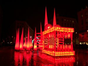 Dragon King - Festival of Lights 2012 - Lyon, France
