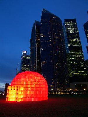 BIBIGLOO - Ilight Marina Bay - Singapour 2012