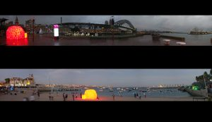 Le BIBIGLOO - Vivid Sidney - Sidney, Australie 2012 et Lumina - Cascais, Portugal 2013