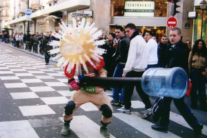 Le Soldat Américain - Rue de Rivoli, Paris 2003