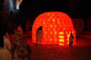 BIBIGLOO – Light Festival - Jérusalem 2015
