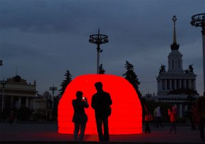 BIBIGLOO - Circle of light Festival - Moscou, Russie 2014