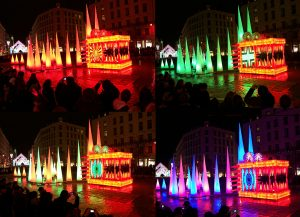 Dragon King - République square - Festival of Lights, Lyon, France 2012