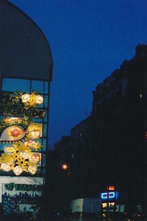 Façade du squat Boulevard Bessières - Paris, France - 2004