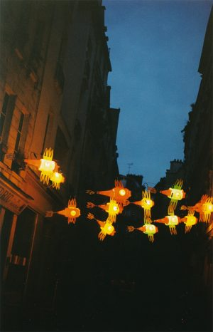 Installation on Montmorency street - Paris, France – March 2003