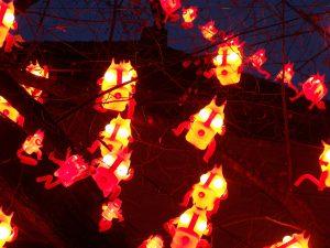 L'Enfer de BIBI, c'est ICI - Arbres et lumières 2012 - Genève, Suisse