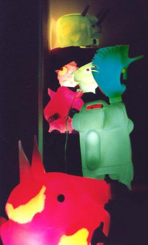 L'Arche de BIBI - Installation Passage de l'Ours - Paris 2000