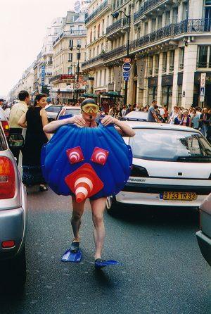 Le Maître Nageur - Rue de Rivoli, Paris 2001