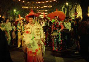 Défilé pirate avec mexicains - Feria des vendanges - Nîmes 1992